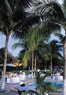 View of Dining at the Occidental Allegro Cozumel
